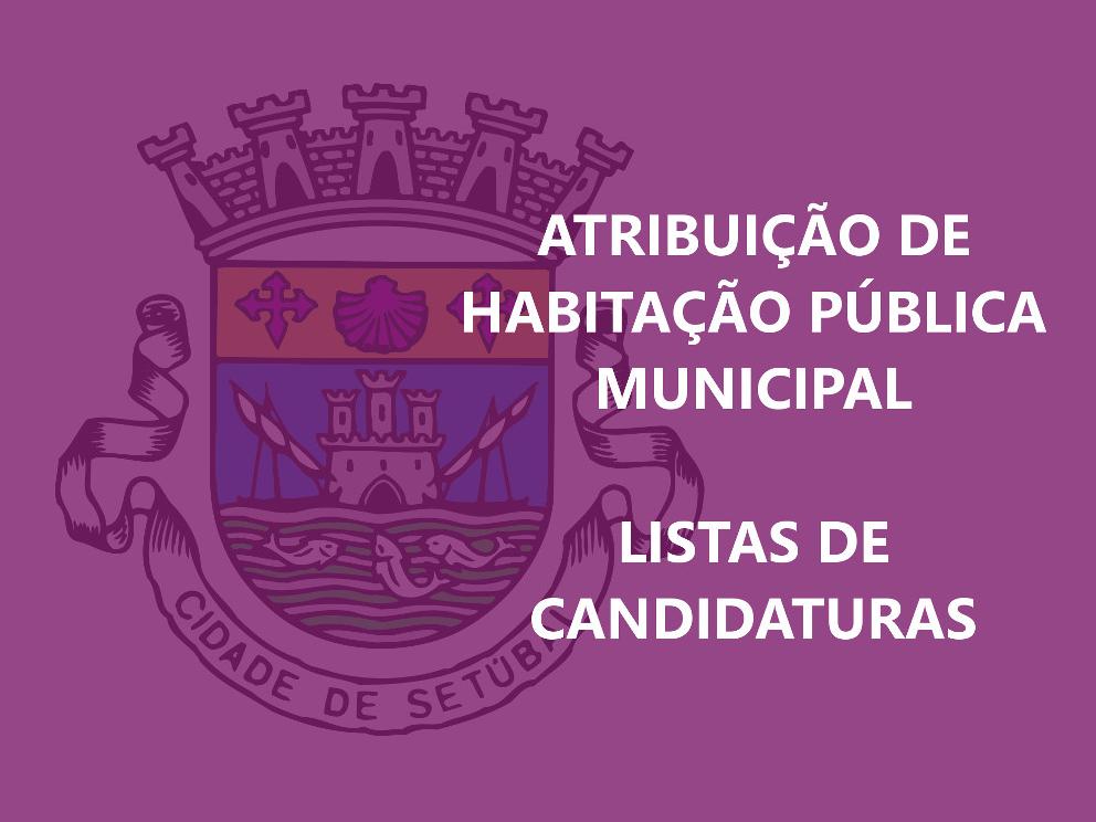Habitação Pública | Listas de Candidaturas
