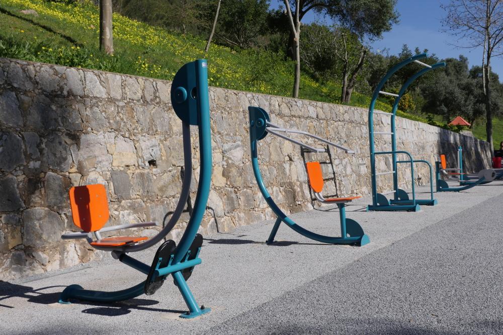 Parque Urbano de Albarquel | Máquinas de manutenção física