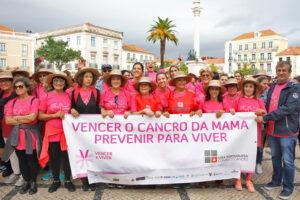 Caminha solidária contra o cancro da mama