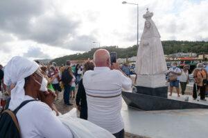 Estátua de Nossa Senhora do Rosário de Troia
