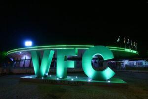 Nova iluminação do Estádio do Bonfim