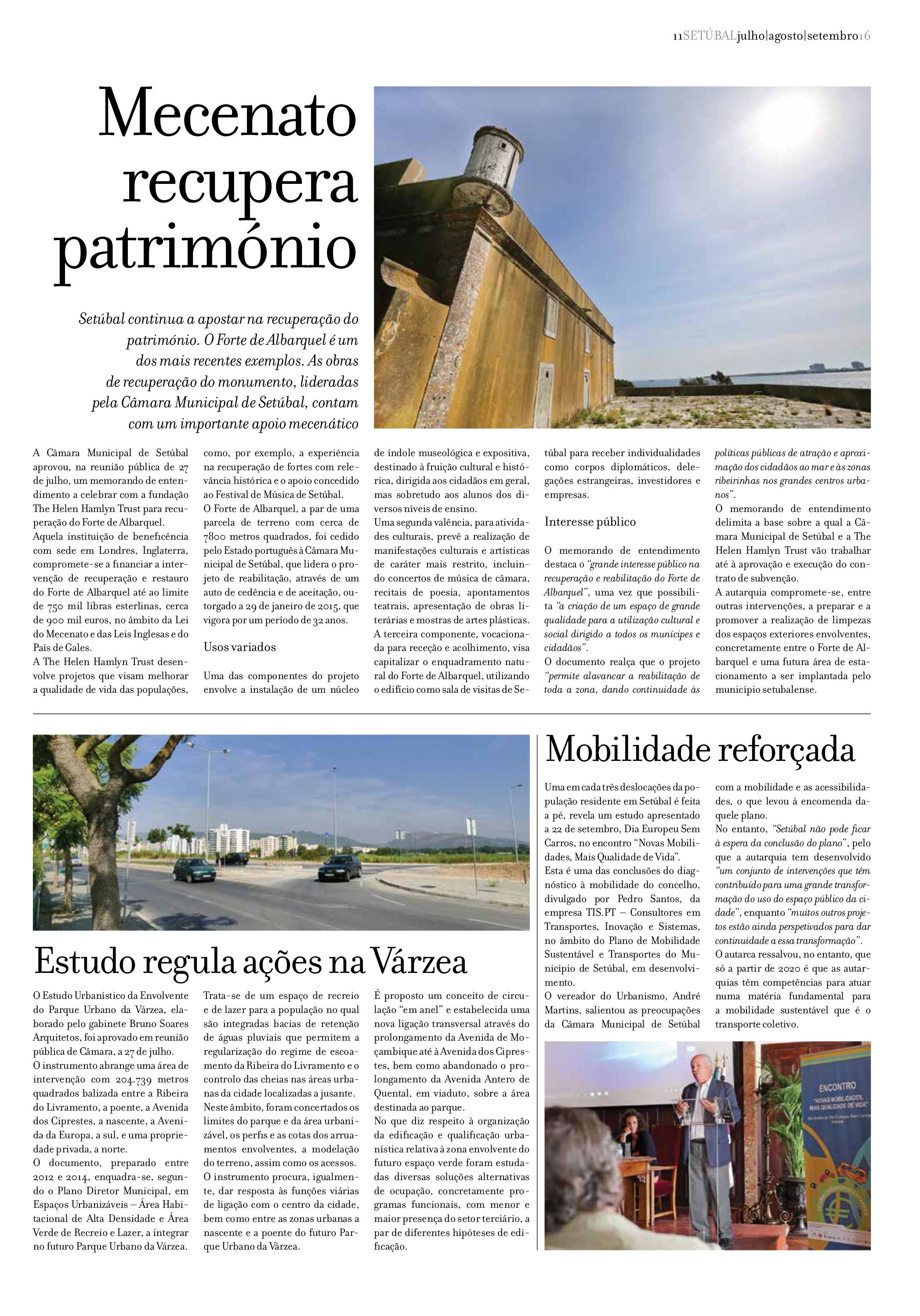 Jornal Municipal Julho 2016 Pág. 11
