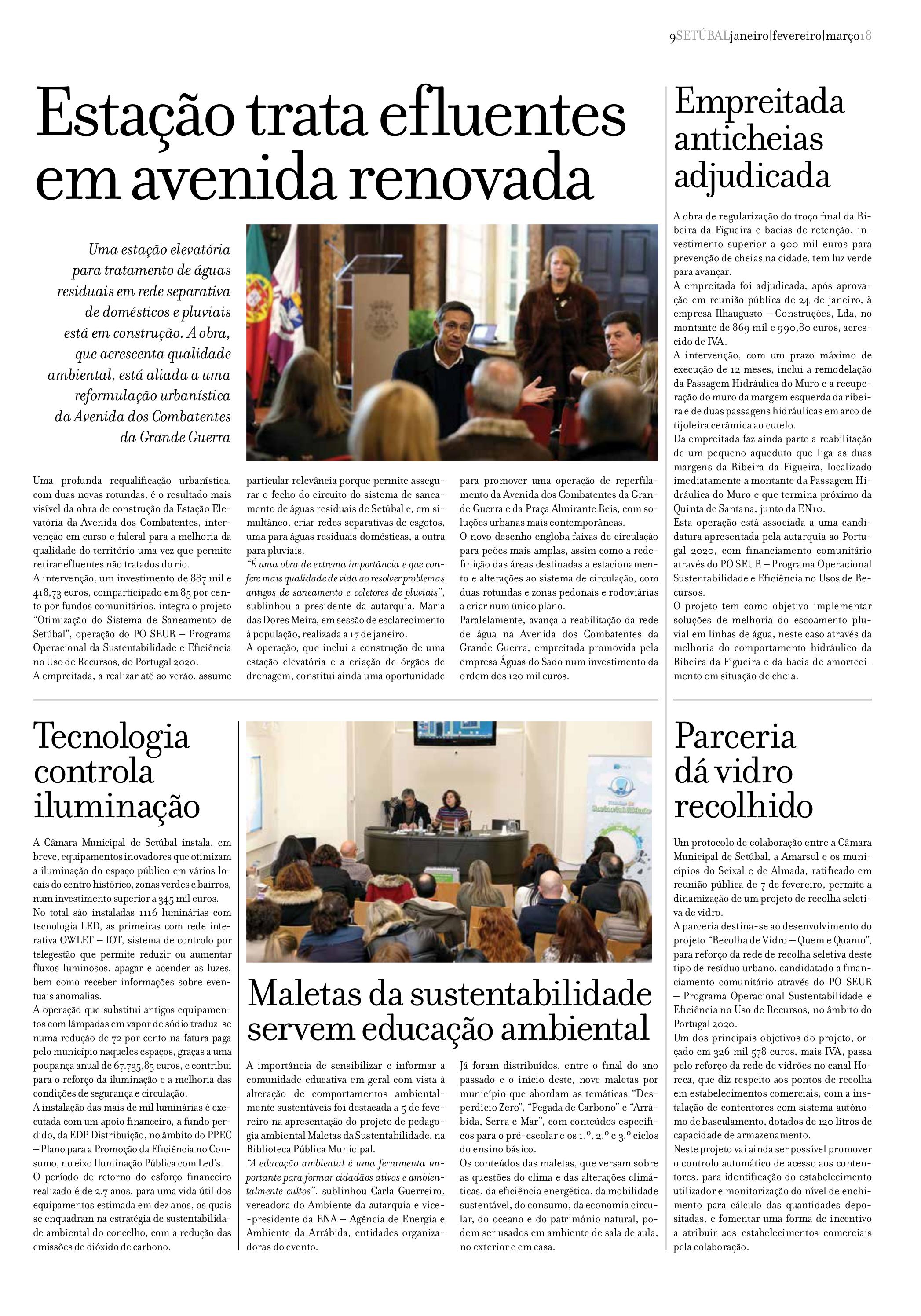 Jornal Municipal Março 2018 Pág. 09