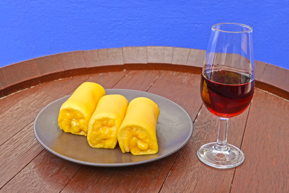 Tortas de Azeitão e Moscatel de Setúbal