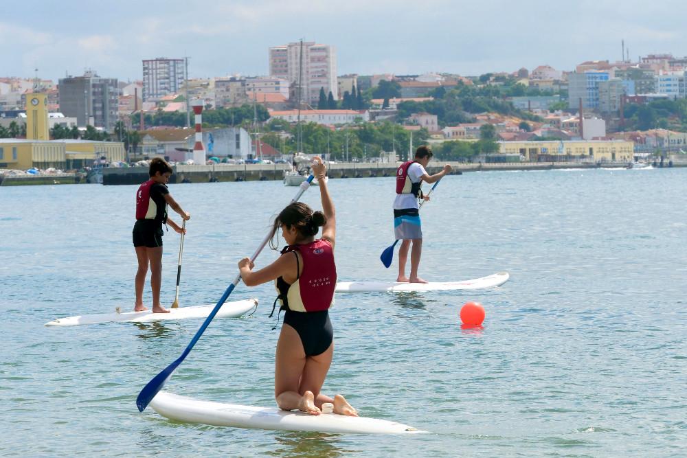 Ateliers de Verão | Stand up paddle