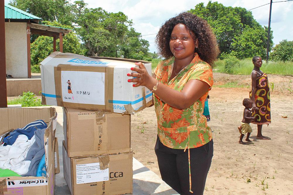 Setúbal ajuda Quelimane - distribuição de bens