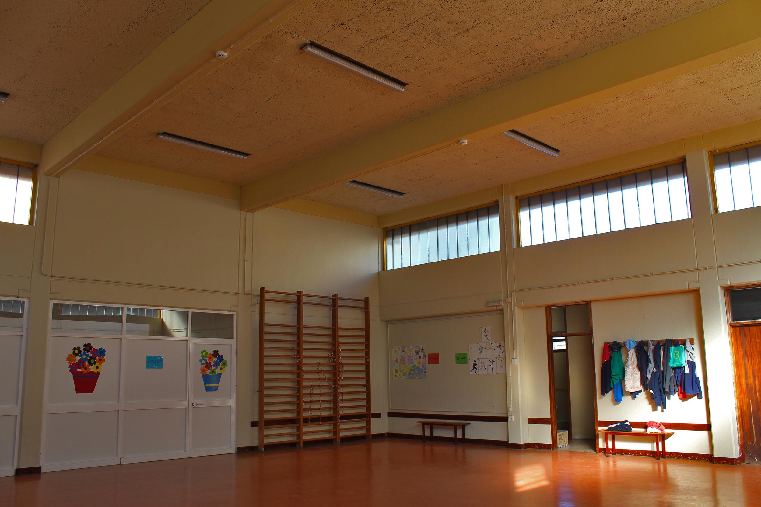 Obras na Escola de São Gabriel