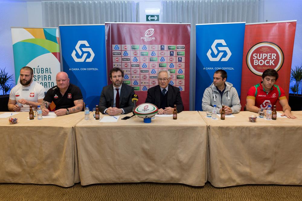 Portugal-Polónia em râguebi - conferência de imprensa