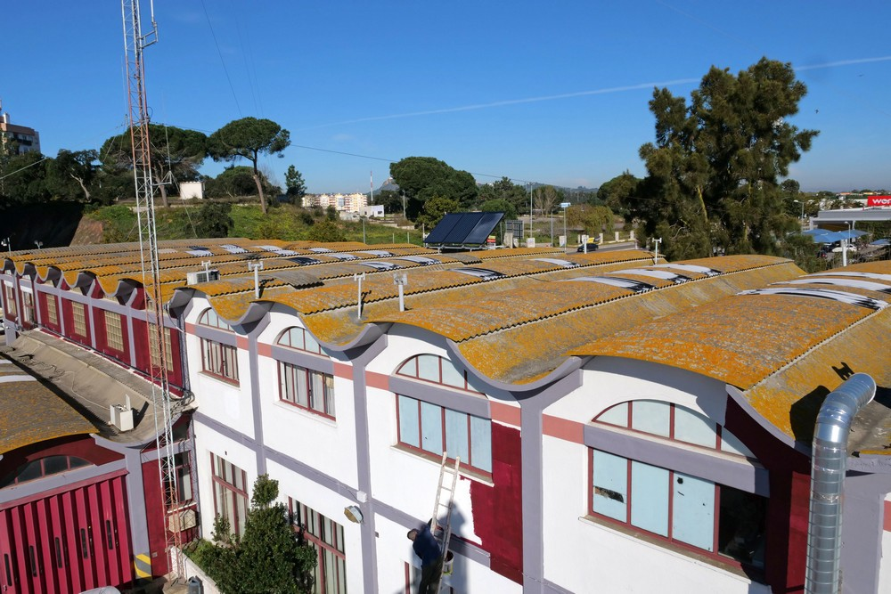 Sistema AQS Solar - quartel dos sapadores
