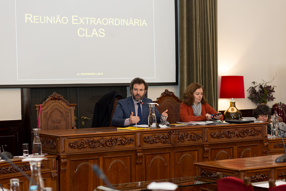 Reunião do CLAS – Conselho Local de Ação Social
