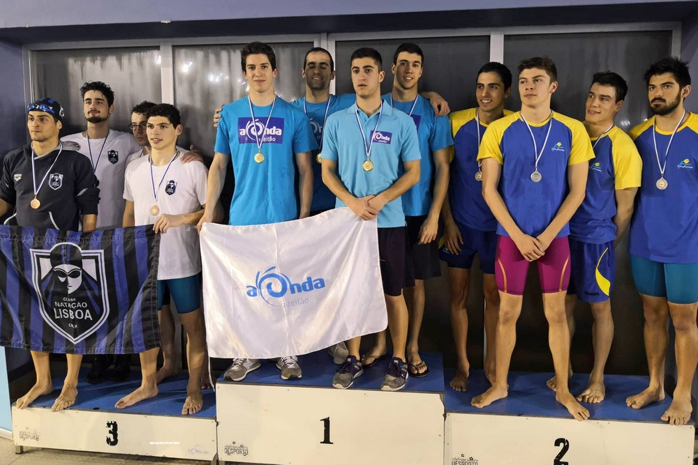 Campeões Regionais - Estafeta 4 x 100m Livres Seniores