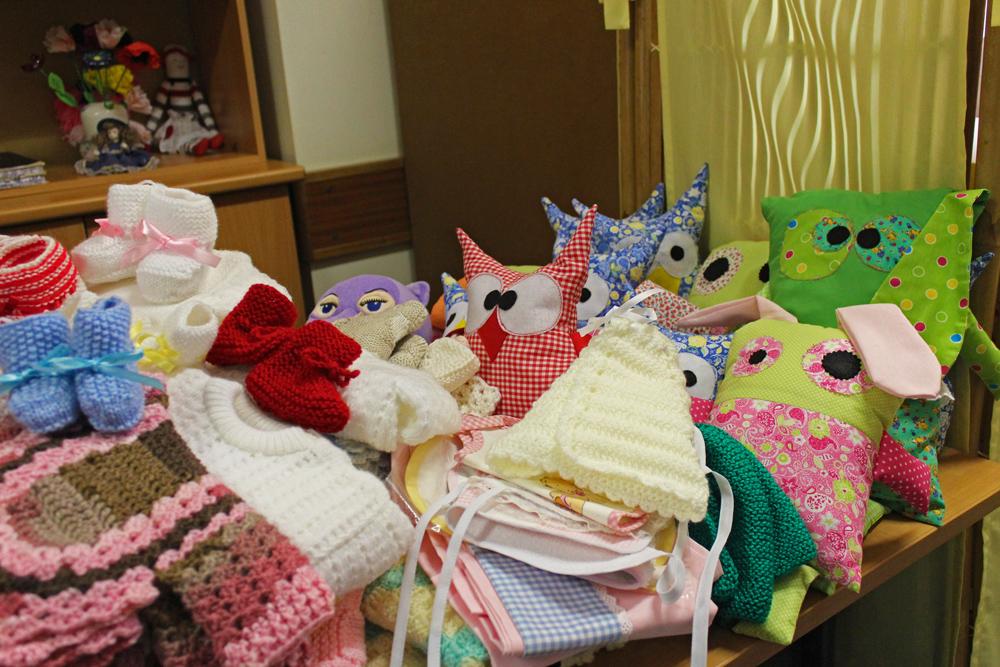Centro Comunitário - utentes apoiam maternidade com enxoval