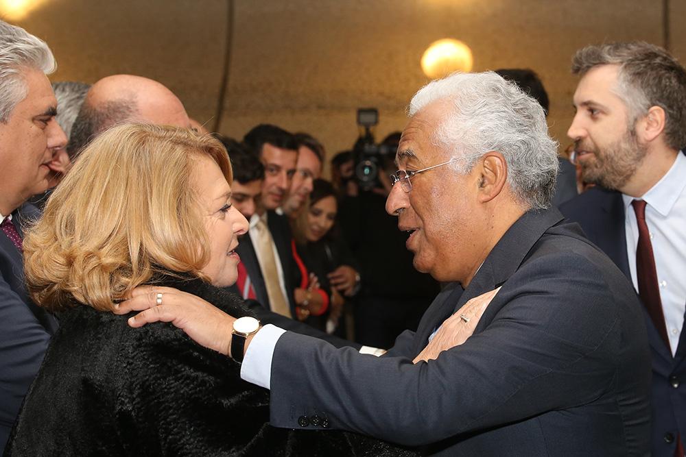 Passe Navegante | Assinatura de contrato | Primeiro-ministro António Costa e presidente Maria das Dores Meira