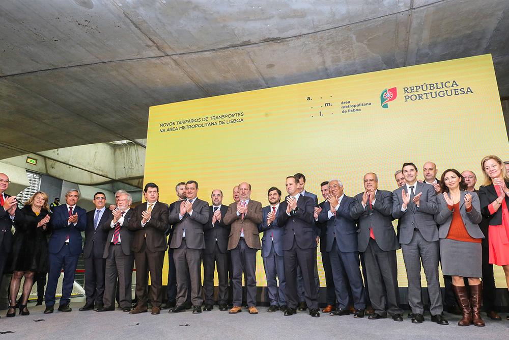 Passe Navegante | Assinatura de contrato | Área Metropolitana de Lisboa