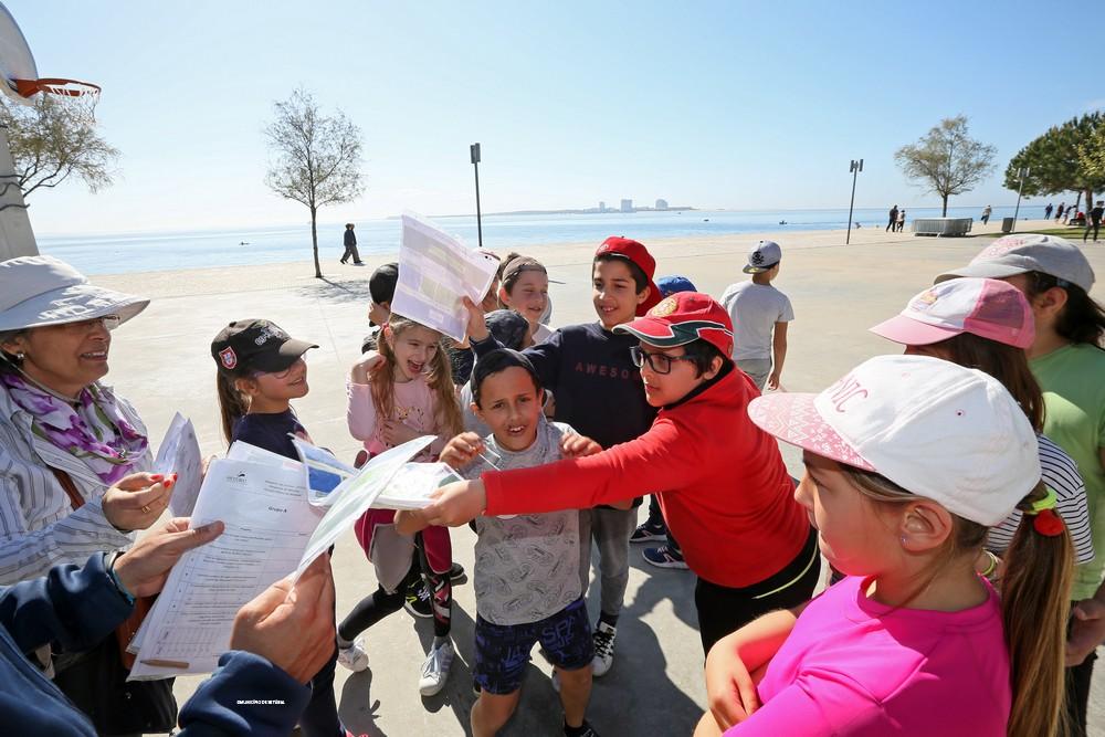 Desporto nas Escolas 1.º Ciclo - Escalada e Orientação - Goarrábida - Parque Urbano Albarquel
