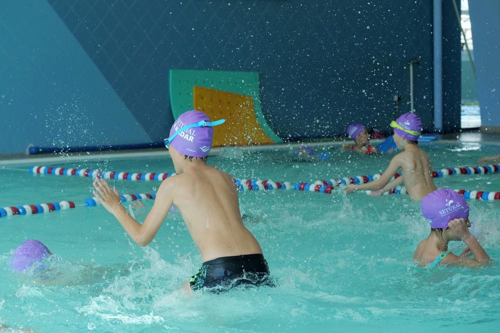 Desporto nas Escolas 1.º Ciclo - Natação – Piscina das Palmeiras