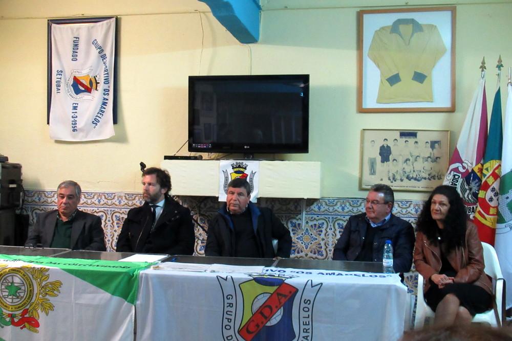 """Grupo Desportivo """"Os Amarelos""""   63.º aniversário"""