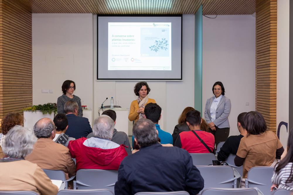 """Conferência """"À Conversa Sobre Plantas Invasoras"""""""