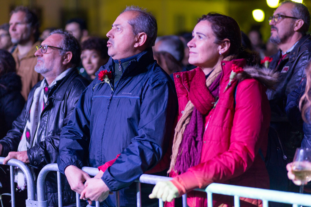 Comemorações 25 de Abril de 2019 - espetáculo Jorge Palma