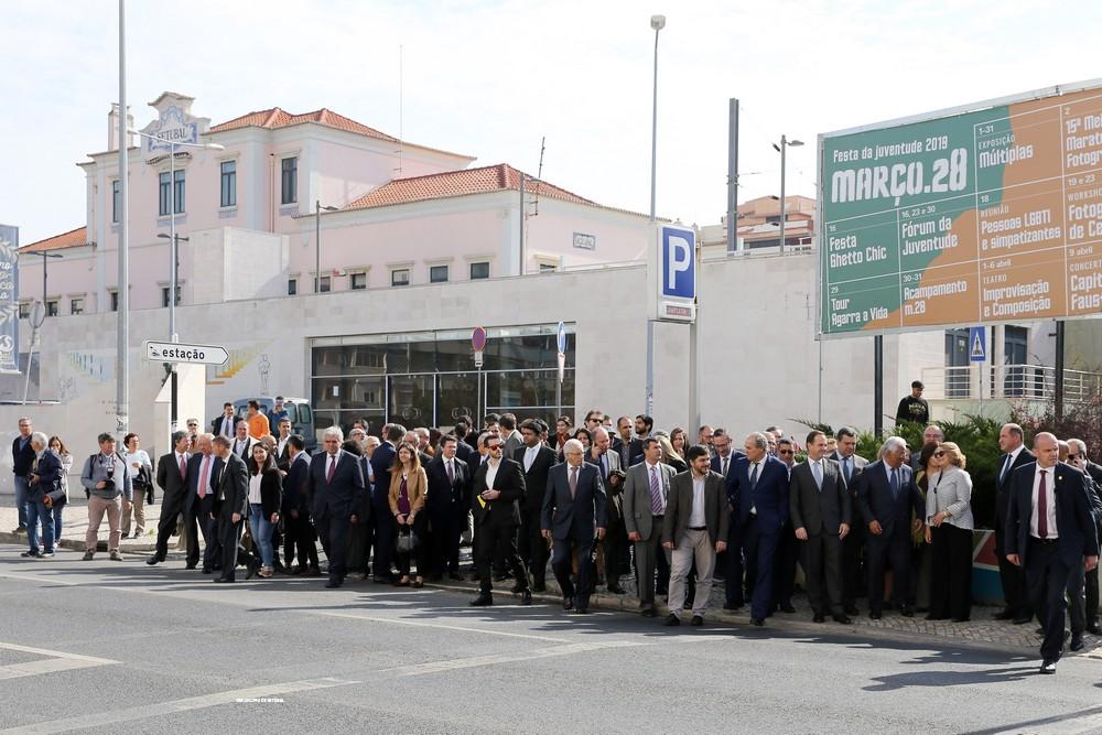Navegante - entrada em vigor - Cerimónia em Setúbal