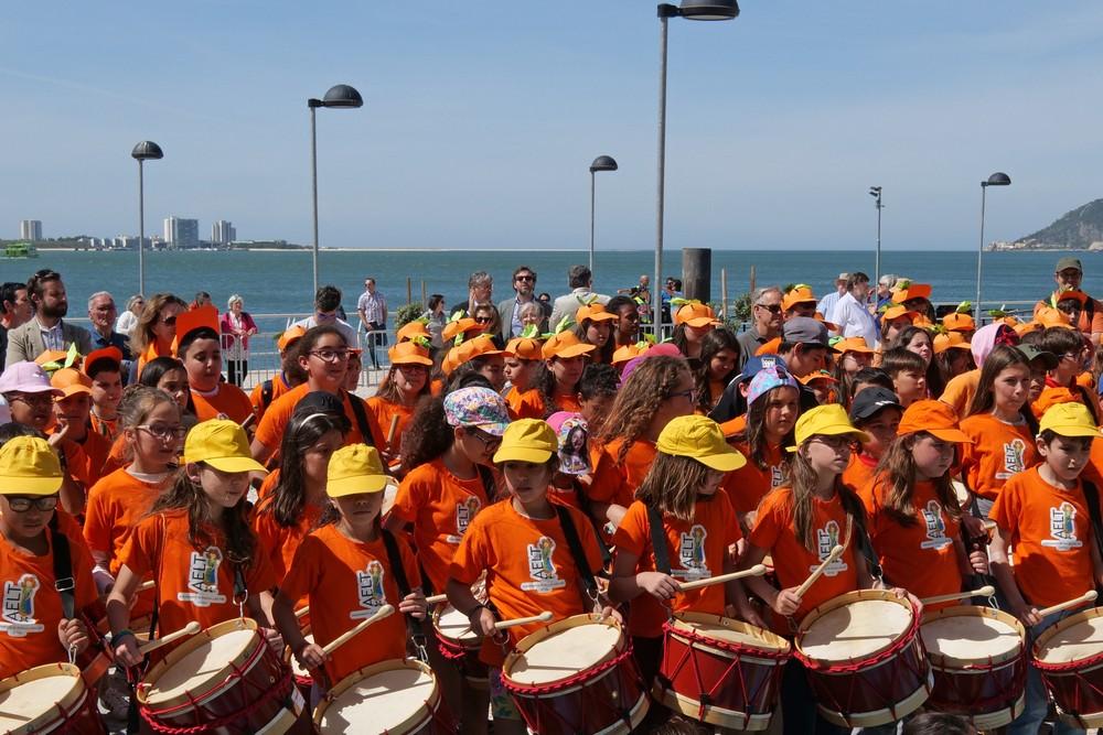 O Rio é a Nossa Casa - Desfile de Percussão - Festival de Música de Setúbal