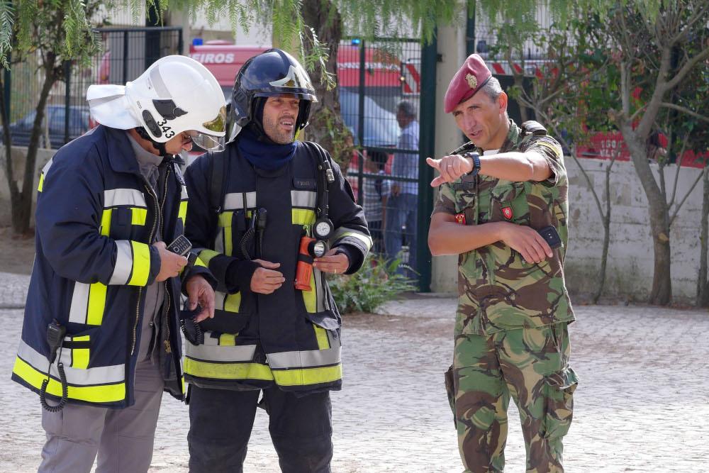Setúbal paticipa em exercício militar em Aragón