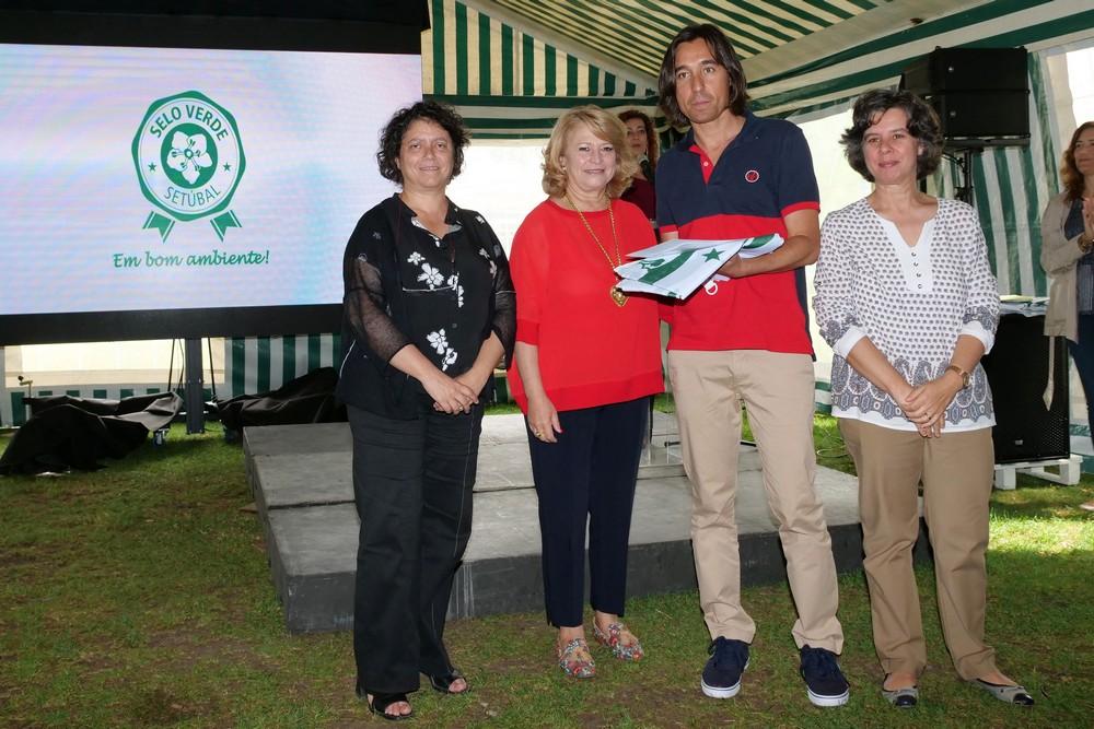 Dia Mundial do Ambiente - atribuição do Selo Verde e Hastear da Bandeira no Jardim do Bonfim - 2019