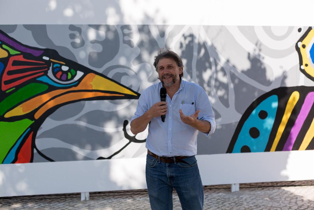 Exib Música | Inauguração de mural | Juan Carlos Barretto