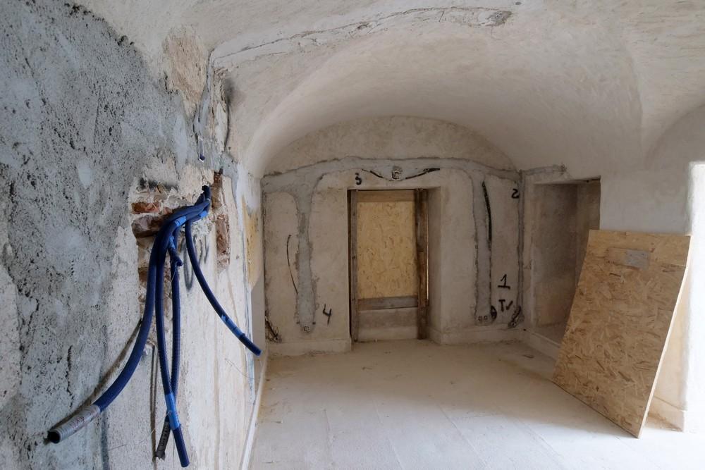 Forte de Albarquel   obras de reabilitação