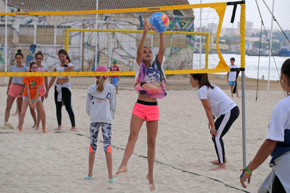 Ateliers de Verão 2019 - voleibol de praia