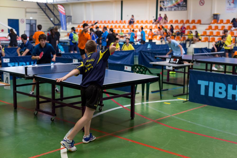 Campeonatos Nacionais Escolares de Iniciados - Ténis de Mesa