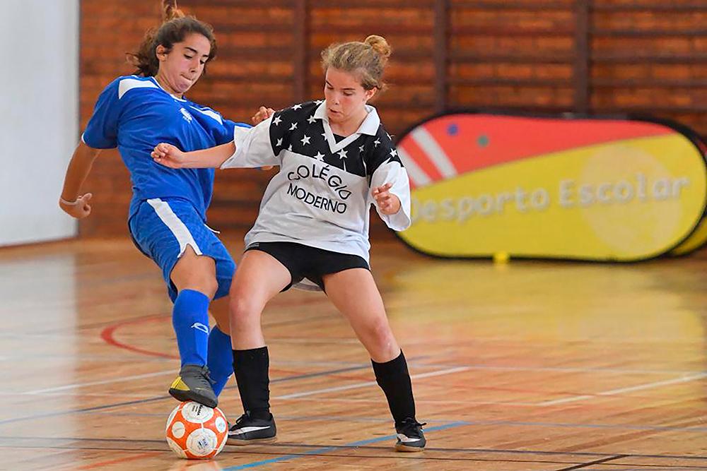 Campeonatos Nacionais Escolares de Iniciados | Futsal | ©Desporto Escolar