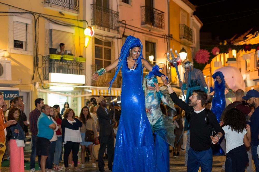 Noite Azul - Setúbal na Rua 2019