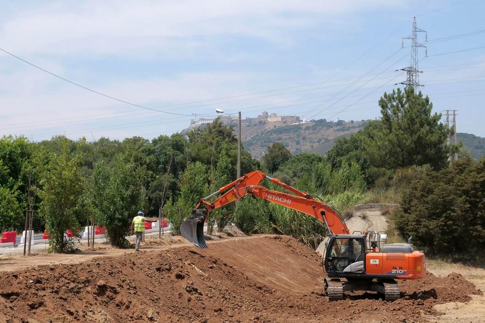 Projeto Ciclop7 - obras na Avenida dos Ciprestes