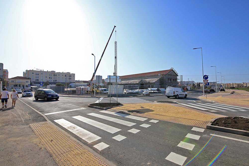 Novo esquema de circulação entrada norte da Avenida dos Ciprestes