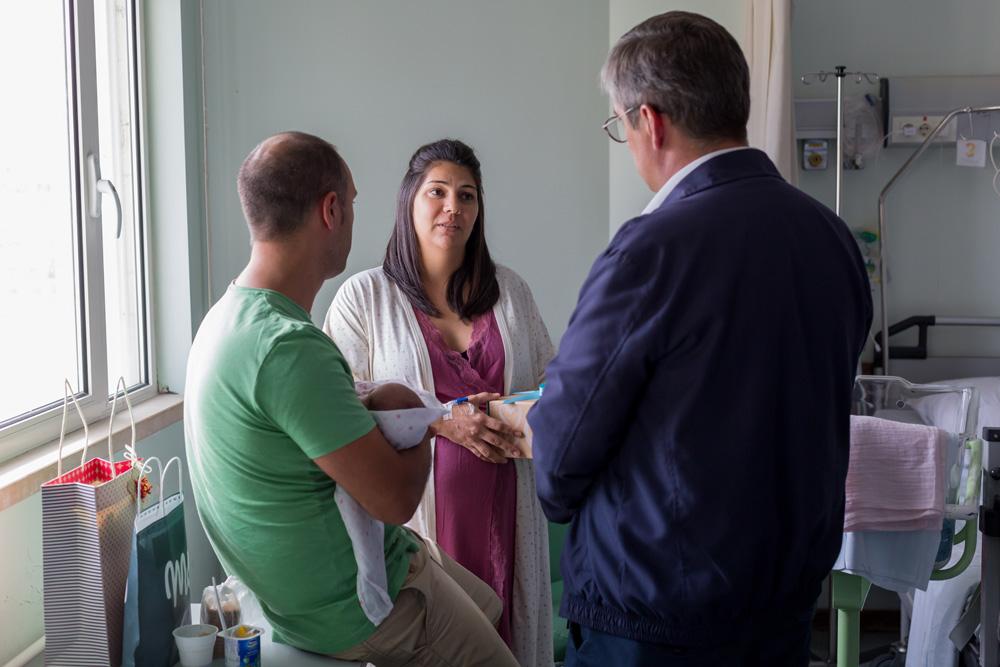 Bebé Box - visita à maternidade do Hospital de São Bernardo