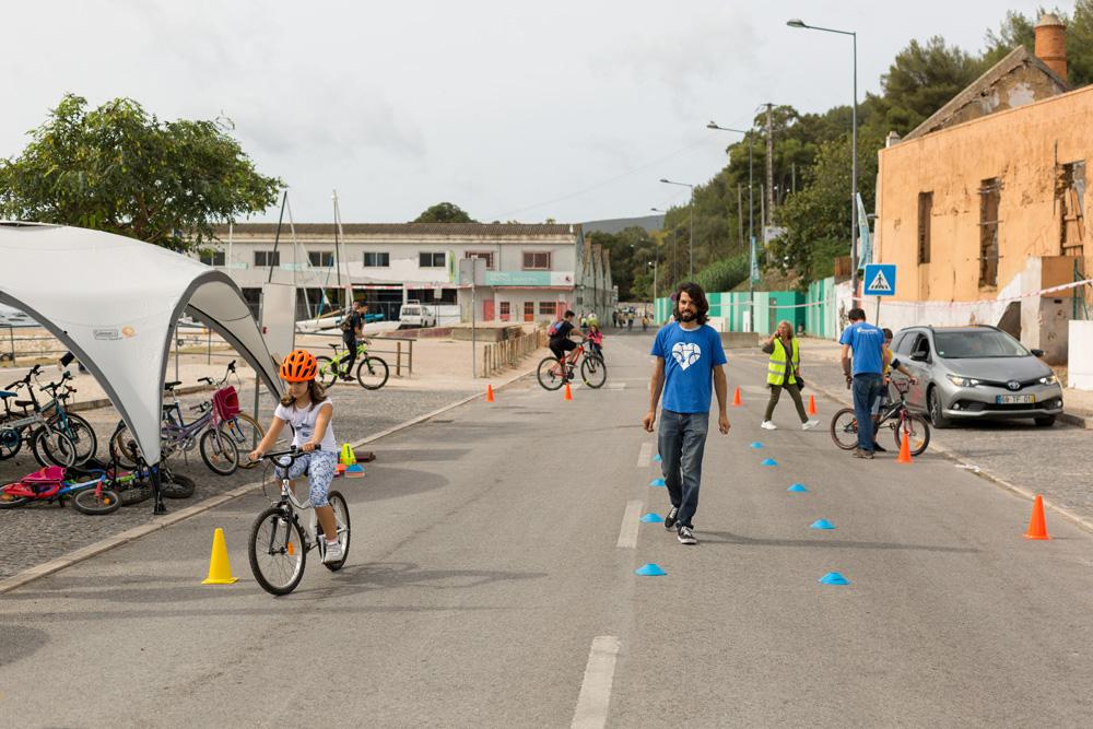 Dia Europeu Sem Carros - ações formação andar bicicleta