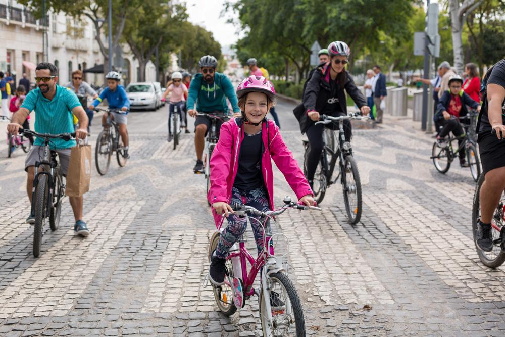 Dia Europeu Sem Carros - início de passeios de bicicleta