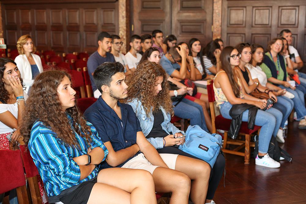 Receção a alunos da Escola Superior de Saúde - IPS