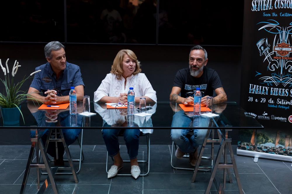 Setúbal Custom Weekend - conferência de imprensa - 2019