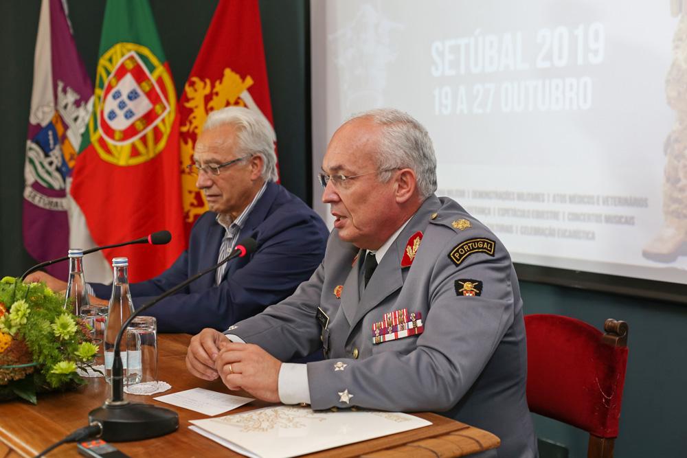 Dia do Exército 2019 - conferência de imprensa
