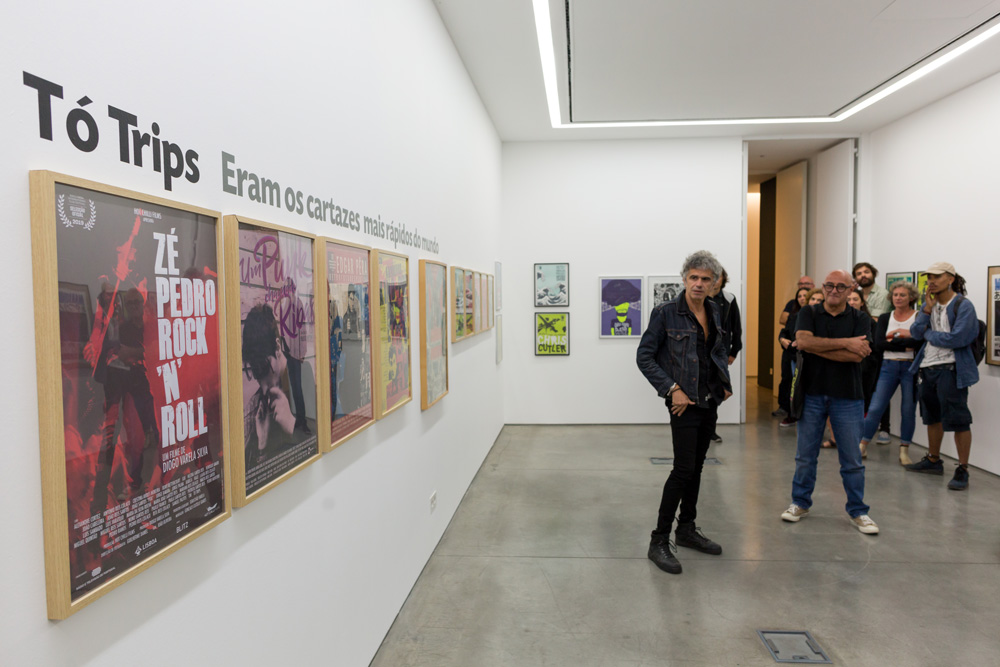 Eram os Cartazes Mais Rápidos do Mundo - exposição Tó Trips - Film Fest 2019