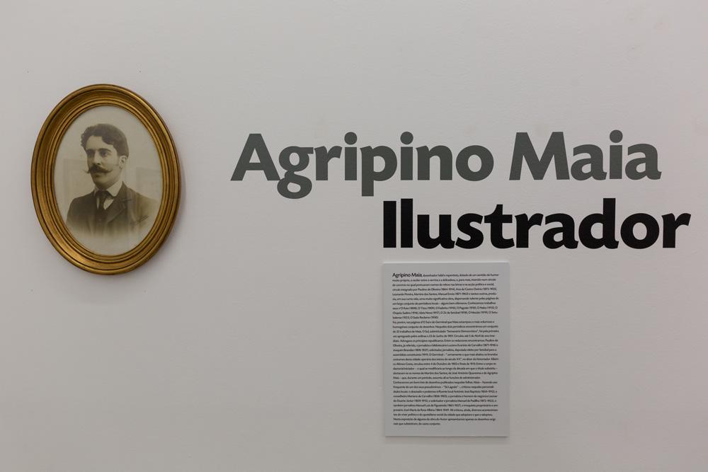Agripino Maia Ilustrador - exposição