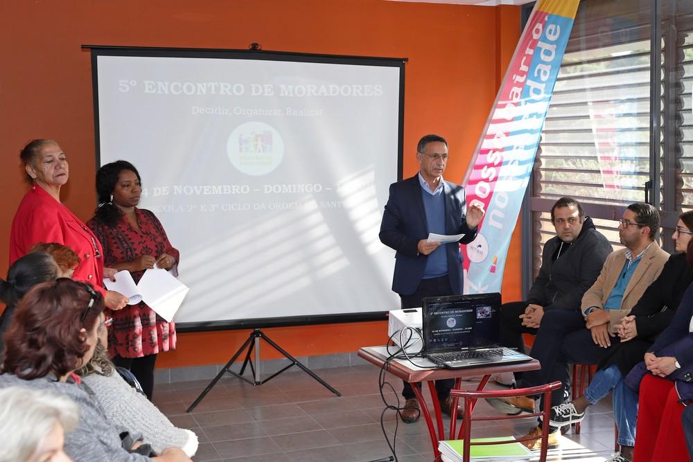 5.º Encontro de Moradores Nosso Bairro, Nossa Cidade - conferência de imprensa