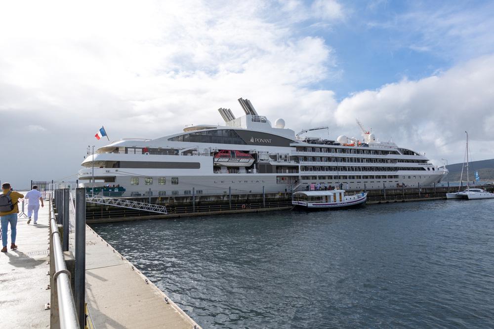 Le Lyrial - partida do porto de Setúbal