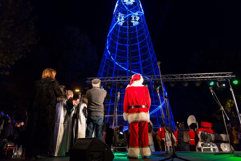 Setúbal Christmas Fest - acender iluminações Natal