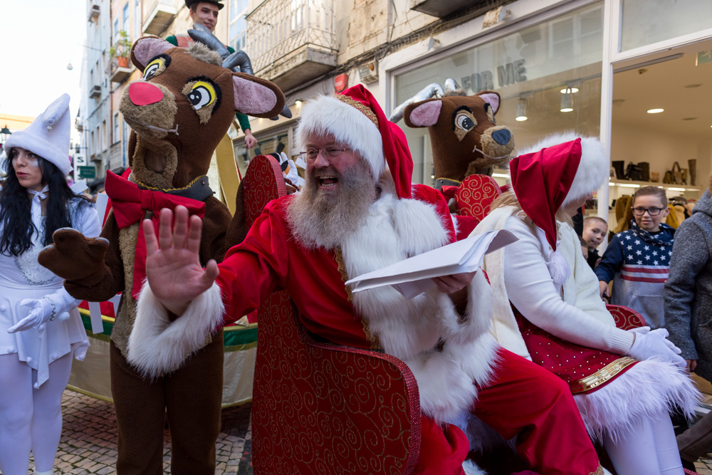 Setúbal Christmas Fest - chegada do Pai Natal