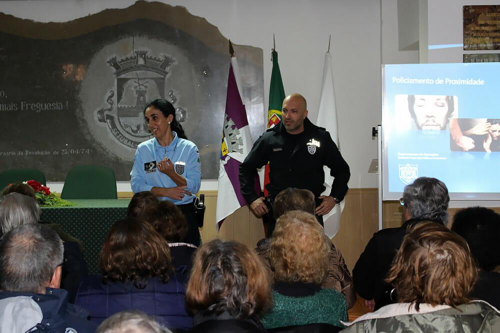 Ação da PSP sobre violência doméstica