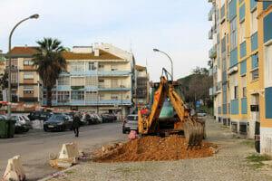 Rua Valverde | Obras criam estacionamento | Foto JFSS