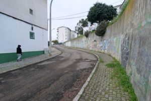 Repavimentações - ruas Ramalho Ortigão e Magnólias